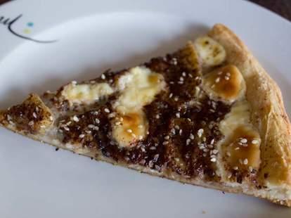 Zia Banana Split Pizza