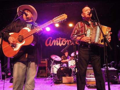 A performance on stage at Antone's