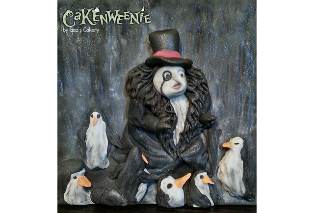 A bunch of bakers made awesome, terrifying Tim Burton cakes