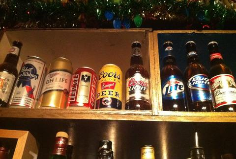 Beers on the wall at Shangri La