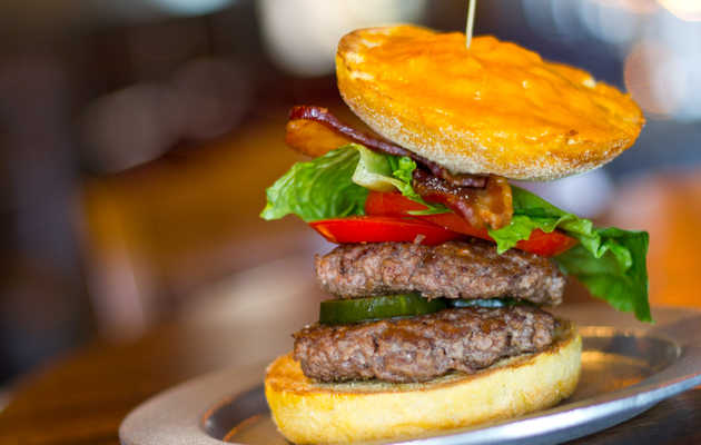 Upside-down burgers and moonshine cocktails in Buckhead