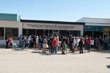 Trekcetera Museum in the town of Vulcan, Alberta.