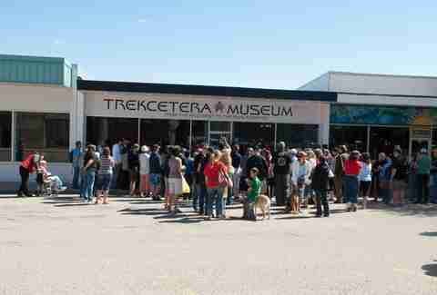 Trekcetera Museum in the town of Vulcan, Alberta.