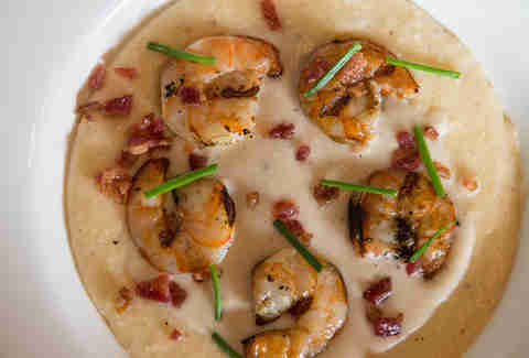 Witness Shrimp and Grits