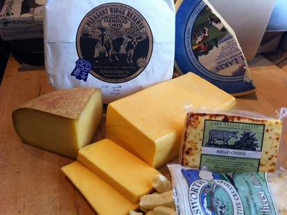 cheeses from Star Provisions - ATL