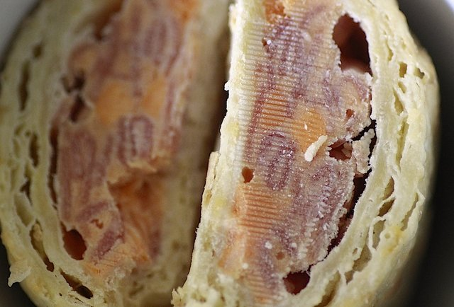 Can you guess these foods based on the zoomed-in cross section?