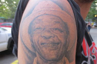 Marion Barry tattoo