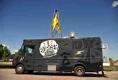 Burger Radio food truck