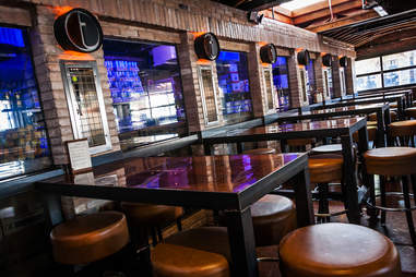 Table taps at Tavern at the Beach in Pacific Beach San Diego.