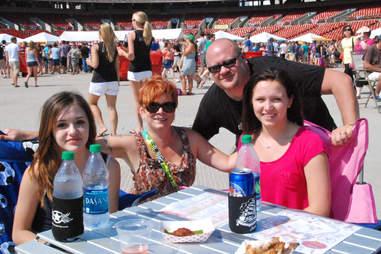 Michelle, Nadine, David and Raegan Puchala