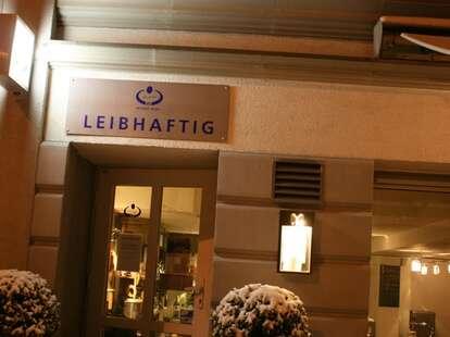 Exterior shot of Leibhaftig