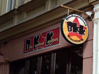 Bierkombinat Kreuzberg Signage