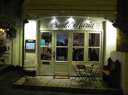 Santa Maria Pizza London