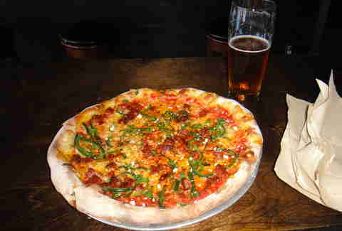 blind lady ale house san diego house chorizo pizza pie