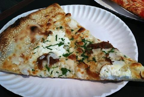 white slice - Best Pizza - NYC