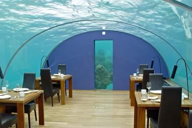 ithaa underwater restaurant maldives