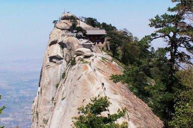 Mt. Huashan Teahouse. China.