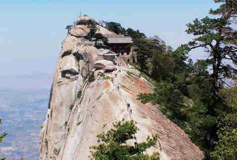 Mt. Huashan Teahouse. China.