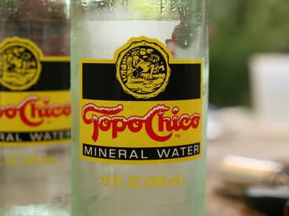 Topo Chico close-up