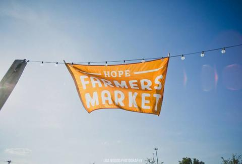 HOPE Farmers Market banner