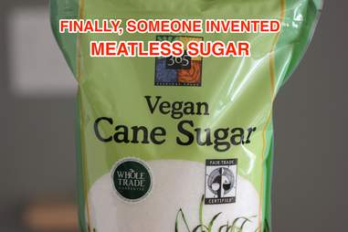 vegan cane sugar at Whole Foods