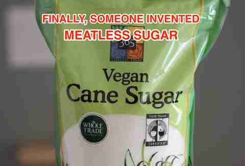 vegan cane sugar at Whole Foods