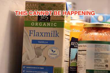 organic vanilla Flaxmilk