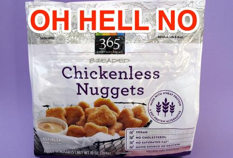 chickenless nuggets at Whole Foods