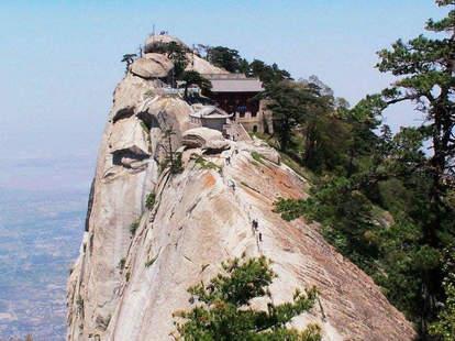 mountaintop teahouse