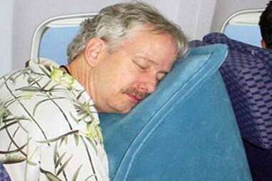 The Cabin Pillow travel pillow wedge.