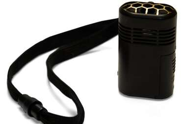 Minimate personal air purification system.