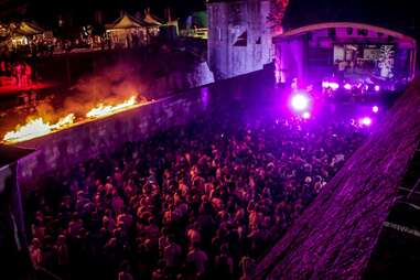 crazy rave party