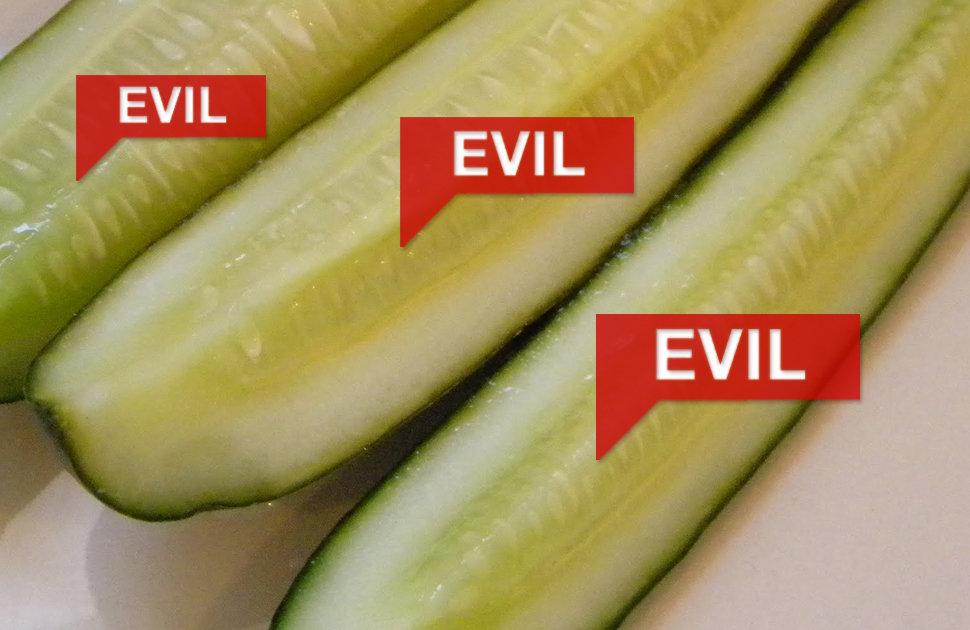 Why I Hate Pickles Pickles Are Gross Thrillist
