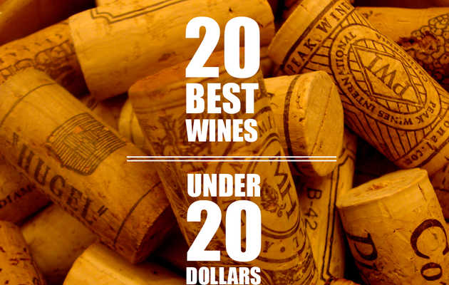The 20 best wines under $20