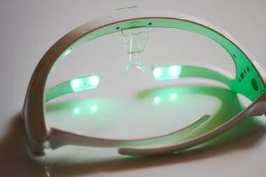 Re-Timer jetlag-easing glasses.