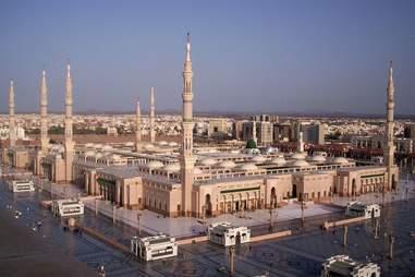 Travel to Saudi Arabia.