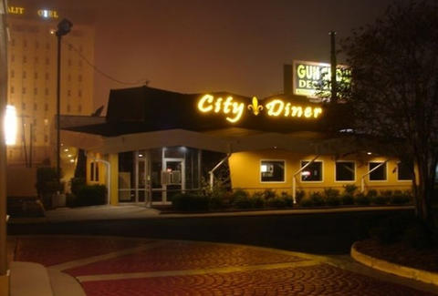 Exterior of City Diner