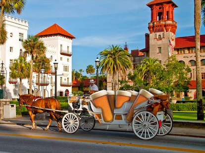 carriage in st. augustine
