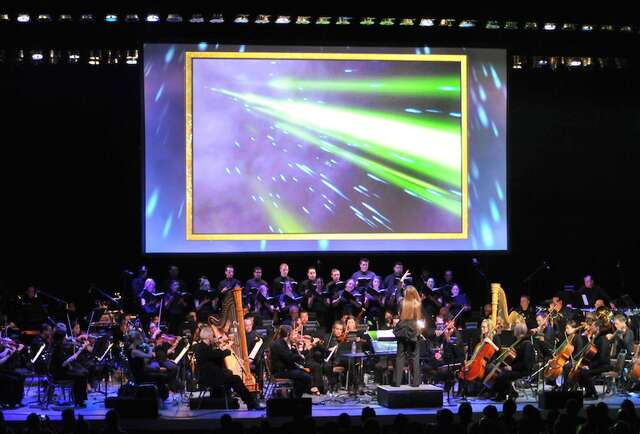The Zelda soundtrack played by an orchestra