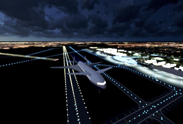 Finally, there will be a SPACE AIRPORT