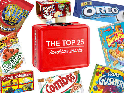 the best lunchbox snacks