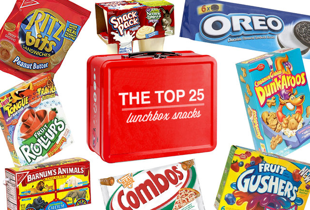 Power-ranking the top 25 old-school lunchbox snacks