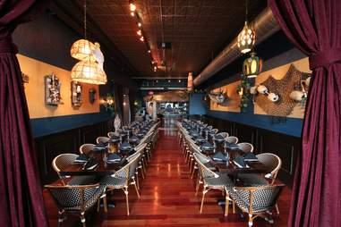 The Torpedo Room at Eat Street Social in Minneapolis, Minnesota.