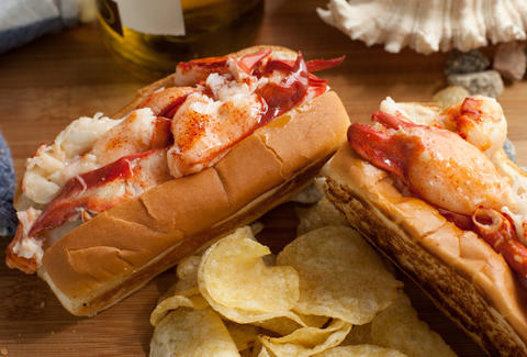 Cousin's Maine Lobster-Lobster Roll-Los Angeles
