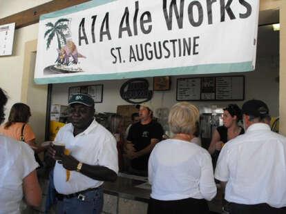 Bar line at A1A