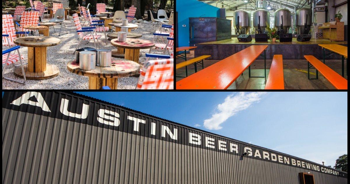 Austin Beer Garden Brewing Co A Austin Tx Bar