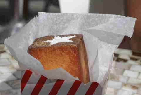 Magic Souffle from Dominique Ansel Bakery - NYC