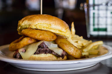 Melty Steak Sandwich, Park Bar - atlanta