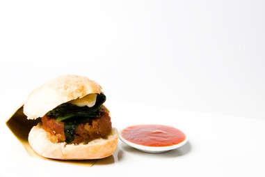 Antica Pesa - Mini-Lamb Burgers - NYC