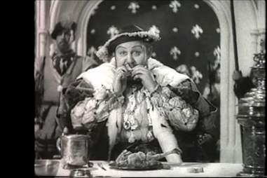 King Henry VIII eating